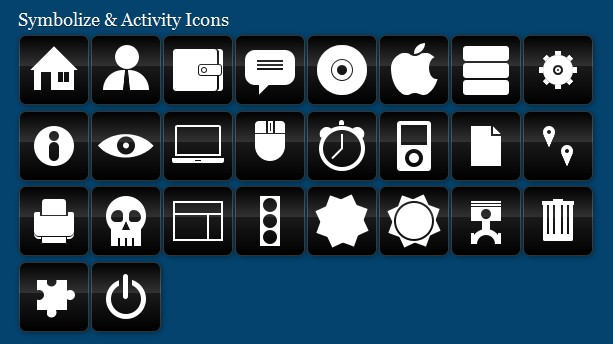 CSS3 Icons Gallery