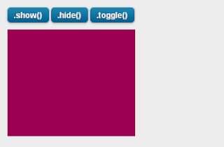 jquery toggle show hide